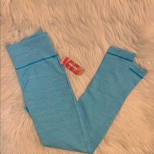 ✨NWT Shosho Seamless Blue Workout Leggings